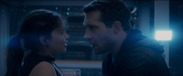 "Emilia Clarke and Jai Courtney play Sarah Connor and Kyle Reese, humanity's last hope, in ""Terminator Genisys."""