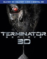 Terminator Genisys: Blu-ray 3D + Blu-ray + DVD + Digital HD combo pack cover art - click to buy from Amazon.com