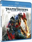 Transformers: Dark of the Moon Blu-ray + DVD + Digital Copy cover art -- click for larger view