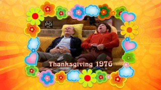 "The Thanksgiving 1976 episode is advertised in the Season 1 promo reel ""Promo-palooza."""