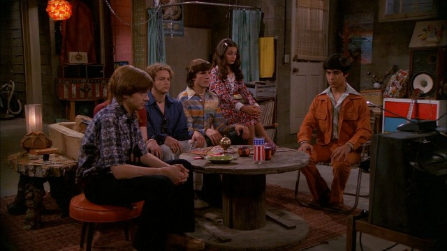 "The go-to hangout for the young cast of ""That '70s Show"" is Eric Forman's basement."