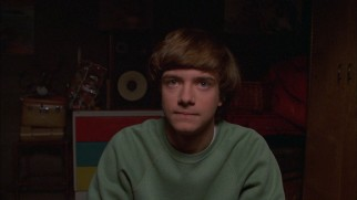 "Gangly, sarcastic teenager Eric Forman (Topher Grace) is the protagonist of ""That '70s Show."""