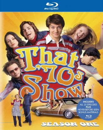 That '70s Show: Season One Blu-ray cover art -- click to buy from Amazon.com