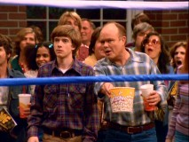Red joins Eric and his friends for their ringside seats at a Kenosha wrestling match.