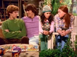 "This split-screen gives us a ""he said, she said"" moment that casts doubt on the sexual nature of Kelso and Jackie's relationship."