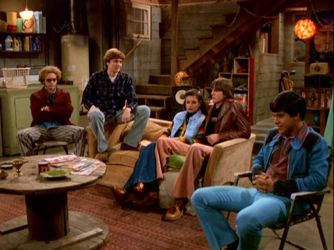 that 70s show basement that 39 70s show season one dvd review mil