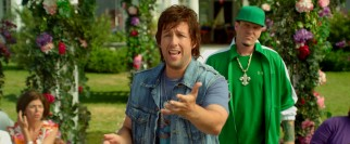 Donny (Adam Sandler) crashes Todd's wedding with Vanilla Ice as backup.