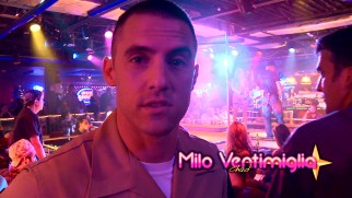 "Milo Ventimigila, who plays Jamie's hard-nosed Marine brother, discusses the film's strip club setting in ""Classy Rick's Bacon and Leggs."""