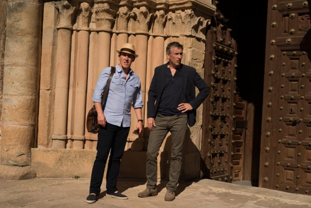 "Rob Brydon and Steve Coogan are back at it in ""The Trip to Spain."""