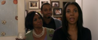 Candace (Regina Hall) is a little disturbed to find the mother (Jenifer Lewis) of her Mama's boy boyfriend (Terrence J) has preserved his bedroom.
