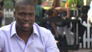 As in the film, Kevin Hart runs his mouth off in the Blu-ray's bonus features.