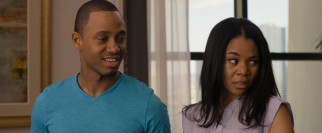 The wedding of Michael (Terrence J) and Candace (Regina Hall) assembles the gang in Las Vegas, including Michael's intrusive mother.