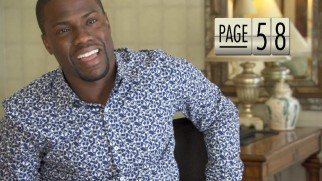 Kevin Hart tries to identify script page numbers as he presents a detailed synopsis of the film as only he can.