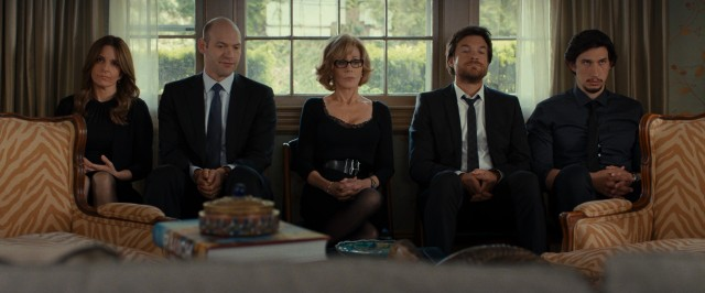 "In ""This Is Where I Leave You"", the Altmans (Tina Fey, Corey Stoll, Jane Fonda, Jason Bateman, and Adam Driver) sits shiva to honor the family patriarch's dying wish."