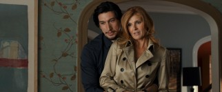 Ne'er-do-well youngest child Phillip (Adam Driver) introduces his family to his wealthy older girlfriend (Connie Britton).