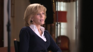 "Jane Fonda discusses getting reacquainted with big screen comedy in ""The Matriarch."""