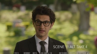 Alternate takes of Ben Schwartz as Rabbi Boner are preserved in the only bonus feature to make both DVD and Blu-ray.