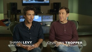 Director-producer Shawn Levy and author-screenwriter Jonathan Tropper come across easy to please in the film's commentary and making-of featurettes.