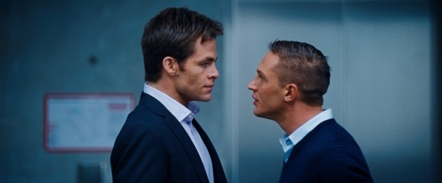 CIA partners FDR (Chris Pine) and Tuck (Tom Hardy) find their longtime friendship challenged by their experiences dating the same woman.