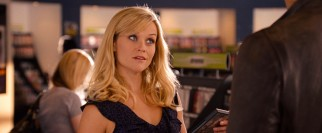 "In ""This Means War"", L.A. product researcher Lauren Scott (Reese Witherspoon) dates not one but two eligible bachelors."