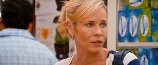 Author and comedienne Chelsea Handler makes the leap to the big screen in the prominent supporting role of Lauren's questionable advice-dispatching best friend Trish.