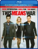 This Means War: DVD + Blu-ray + Digital Copy combo pack cover art -- click to buy from Amazon.com