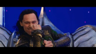 "Tom Hiddleston gets silly in the ""Thor: The Dark World"" gag reel."