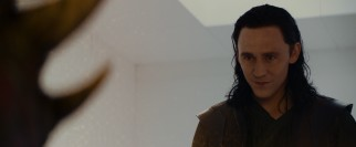 Imprisoned for his crimes in New York, Loki (Tom Hiddleston) is released to assist Thor.
