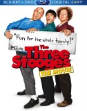 The Three Stooges: Blu-ray + DVD + Digital Copy combo pack cover art -- click to buy from Amazon.com