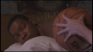 KD (Kevin Durant) gets acupuncture in this deleted scene.