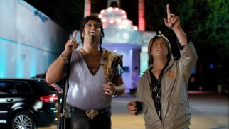 Eric Wareheim and Tim Heidecker get a message in the night sky for their new calling of Dobis PR.