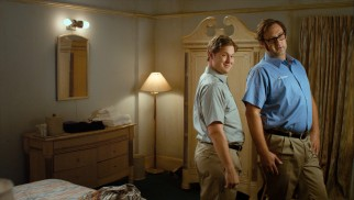 Thus begins Tim and Eric's transformation into pleated khaki-wearing businessmen.