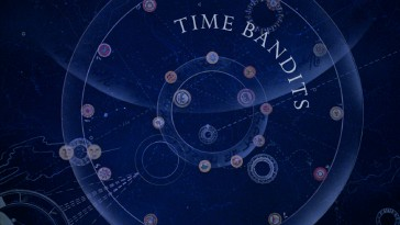 The Time Bandits' map makes for an appropriate Blu-ray menu image.