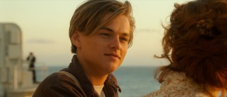 Poor young artist Jack Dawson (dreamy Leonardo DiCaprio) impresses Rose by listening to what she has to say.
