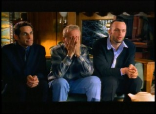 "Ben Stiller and Vince Vaughn try (unsuccessfully) to convince James Cameron to make a ""Titanic"" sequel in this 1998 MTV Movie Awards short."