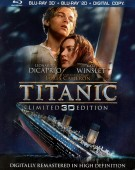 Titanic Blu-ray Disc 3D + Blu-ray + Digital Copy combo pack cover art -- click to buy from Amazon.com