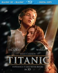 Titanic Blu-ray 3D Combo cover art