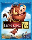 The Lion King 1 1/2 (Special Edition Blu-ray + DVD) -- click for larger cover art