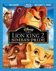 The Lion King II: Simba's Pride (Special Edition Blu-ray + DVD) -- click for larger cover art