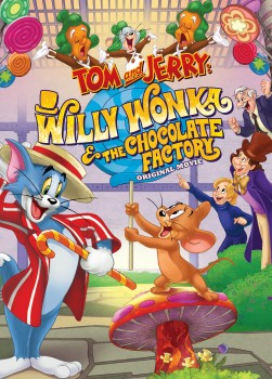 Tom and Jerry: Willy Wonka & the Chocolate Factory DVD cover art -- click to buy from Amazon.com