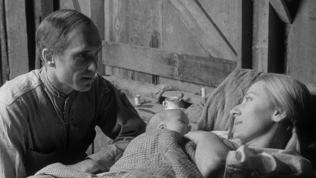 "In ""Tomorrow"", cotton farmer and sawmill caretaker Jackson Fentry (Robert Duvall) welcomes a wife (Olga Bellin) and newborn child into his life."