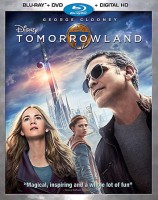 Disney's Tomorrowland: Blu-ray + DVD + Digital HD combo pack cover art -- click to buy from Amazon.com