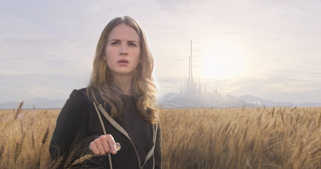 "Brad Bird's ""Tomorrowland"" stars Britt Robertson as Casey Newton, a conscientious teenaged delinquent who gets a glimpse of an exciting future."