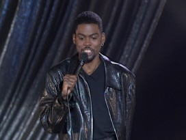 "Chris Rock stand-up bits from over the years are featured throughout ""It's Never Just a Movie."""
