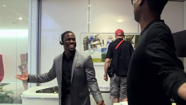 "Kevin Hart wows writer-director-co-star Chris Rock in ""The Making of 'Top Five.'"""