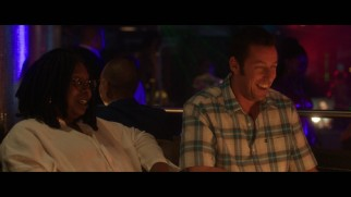 Whoopi Goldberg and Adam Sandler play themselves, friends of Andre Allen in the movie and in some deleted snippets.
