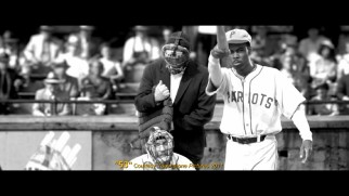 "Andre Allen's baseball movie ""53"" is excerpted for Charlie Rose in this deleted scene."