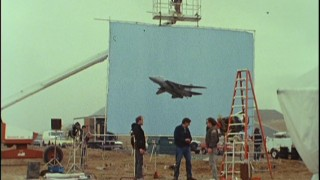 "A scale plane is used for a visual effects shot in ""Back to Basics."""