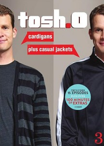Tosh.0: Cardigans Plus Casual Jackets DVD cover art - click to buy from Amazon Marketplace