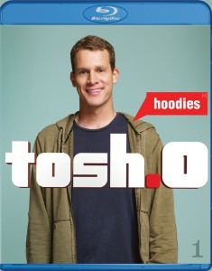 Tosh.0: Hoodies Blu-ray cover art - click to buy from Amazon.com